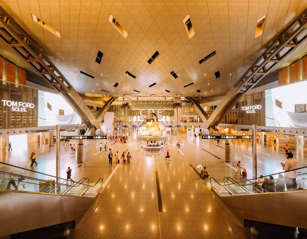 Picture of a shopping centre, a place where royalty free background music is traditionally heard playing over the speakers.